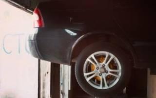Приора на каком пробеге менять тормозные диски