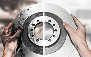Как разобрать задний тормозной диск
