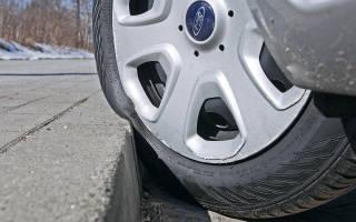 Как спустить шину на машине