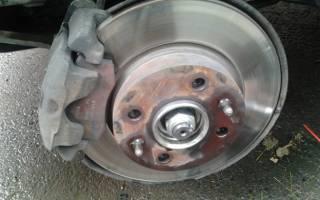 Как менять тормозные диски ваз 21099