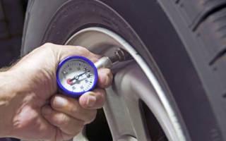 Ваз 21124 какое давление в шинах
