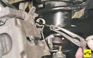 Как снять тормозной диск задний форд мондео 3