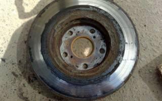 Как оценить износ тормозных дисков