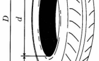 Как узнать диаметр шины по маркировке