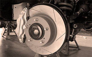 Как выглядит тормозной диск вентилируемый