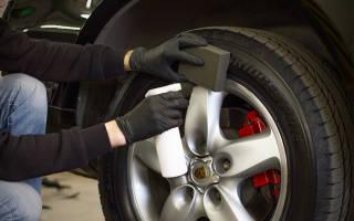 Как сделать черные шины
