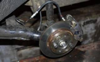 Ваз 2114 как проточить задние тормозные диски
