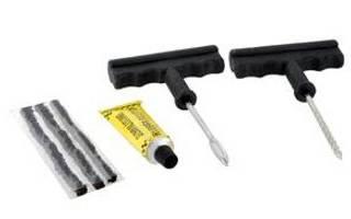 Как ремонтировать бескамерную шину жгутом