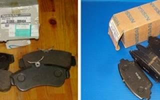 Как заменить тормозные диски передние на ниссан примера