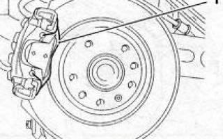 Как заменить тормозные диски задние на опель вектра
