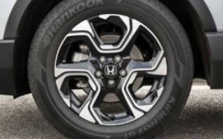 Какой размер шин на хонда срв