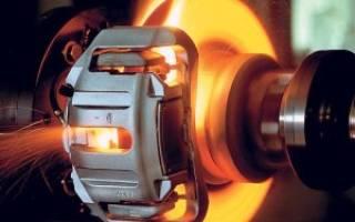 Как нагреваются тормозные диски при торможении