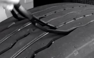 Как резать автомобильные шины