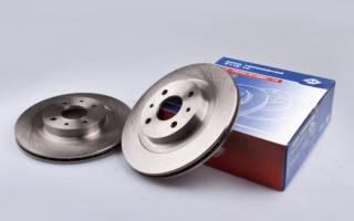 Как поменять тормозные диски ваз 21124