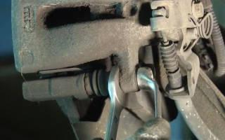 Как заменить тормозной диск опель зафира