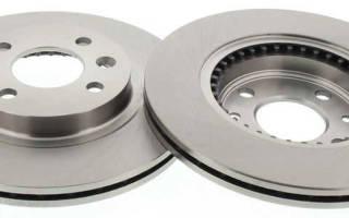 Как определить диаметр тормозного диска логан