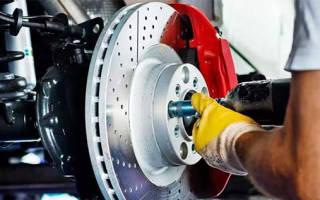 Как померить толщину тормозных дисков