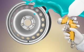 Как покрасить стальные колесные диски