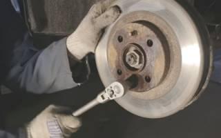 Как снять тормозной диск переднего колеса ваз 2110