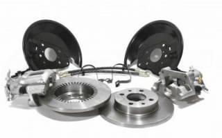 Как на приору поставить тормозные диски вместо барабанов