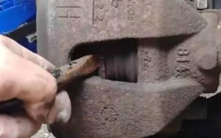 Как заменить тормозные диски на мазда 3 видео