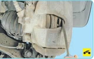 Как менять передние тормозные диски на рено логан