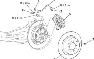 Как снять задний тормозной диск на лансере 10