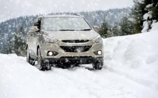 При какой температуре ставить зимние шины на машину
