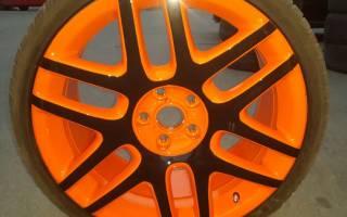 Как перекрасить колесные диски