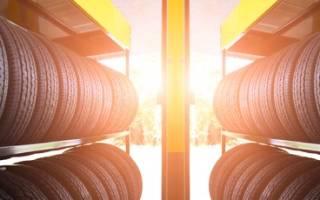 Как хранятся шины на складах