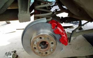 Как снять задний тормозной диск ваз 2107