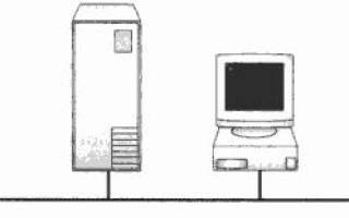 Какой вариант соединения компьютеров в сети называется линейная шина