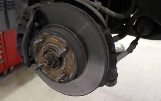 Как снять тормозной диск со ступицы киа сид видео