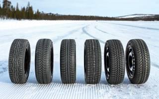 Какой ширины брать шины на зиму