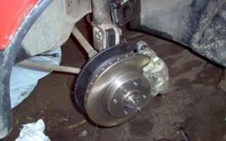 Как менять тормозные диски r14