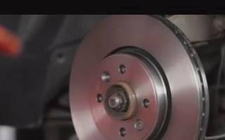 Как заменить задние тормозные диска рено флюенс
