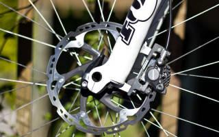 Как установить тормозной диск на колесо велосипеда