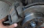 Как меняется тормозной диск на приоре