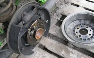 Как поменять тормозной барабан на тормозной диск на ваз 2110