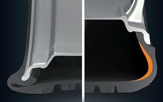 Как определить шину runflat