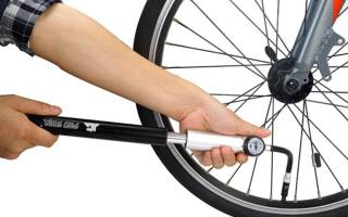 До какого давления накачивать велосипедные шины