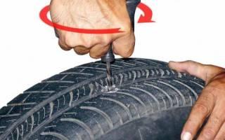 Почему нельзя ремонтировать шины жгутом