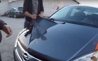 Как очистить шину от краски