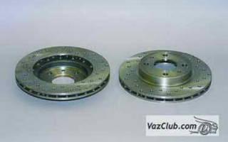 Как менять передний тормозной диск ваз 2115