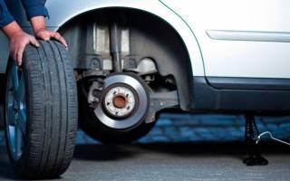 Как менять зимние шины местами