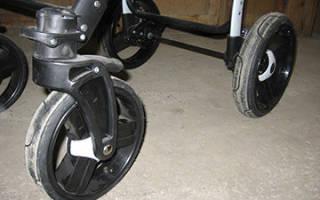 Как натянуть шину на колесо коляски