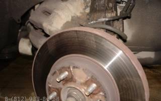 Как меняются тормозные диски на опель антара