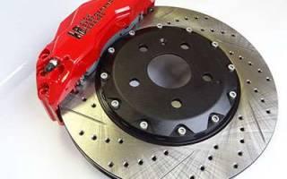 Как поменять тормозной диск на киа рио 2012