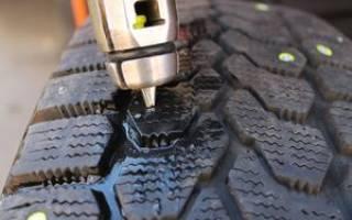 Как выглядят шипы на шинах