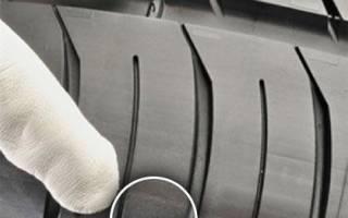 Как узнать износ зимних шин